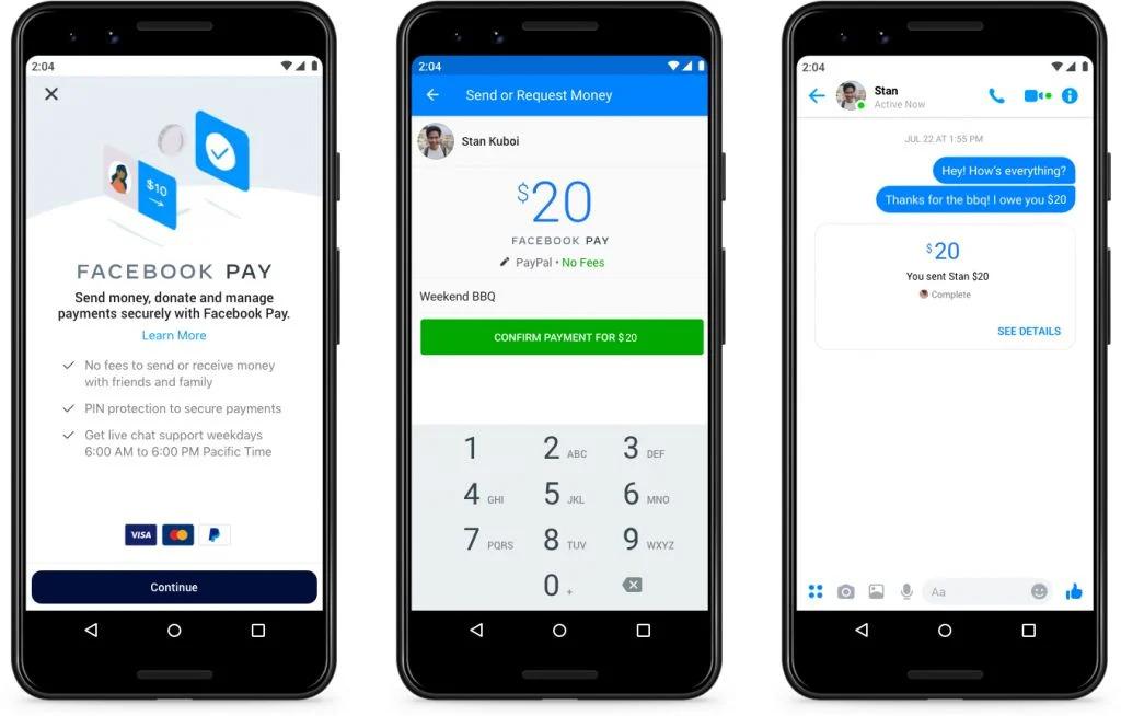 Débito, crédito ou pagamento no Facebook? Agora você pode pagar usando o WhatsApp